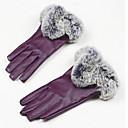 zaslon osjetljiv na dodir ženske kožne rukavice (touch-screen ljubičasta)