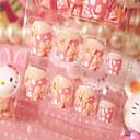manikura gotova lažni nokti nokti noktiju manikura cvijet patch 24 tablete s ljepilom