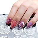 1pcs Nail Art naljepnica Diecut Manikura Matrica šminka Kozmetički Nail art dizajn