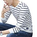 Majica s rukavima Muškarci,Vintage / Slatko / Ulični šik Ležerno/za svaki dan / Sportske / Plus veličine Jednobojni / Prugasti uzorak-