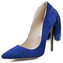 Žene Cipele na petu Proljeće Ljeto Jesen Zima Udobne cipele Klub obuća Osvijetlite Shoes Brušena kožaFormalne prilike Ležeran Zabava i