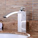 umyvadlem kohoutek v moderním stylu jediné rukojeti vodopád umyvadlem baterie