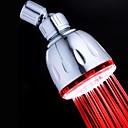 Současné Dešťová sprcha Pochromovaný vlastnost for  LED / Šetrný vůči životnímu prostředí , Sprchová hlavice