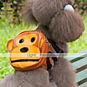 犬用品 バックパック ブラウン 犬用ウェア 夏 漫画 キュート