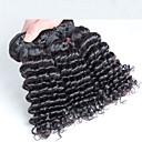 3個/ロット安い未処理マレーシアの髪織り、マレーシアの髪織りdeeoカーリーヘア波状