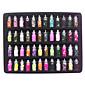 48ks smíšený styl Glitter Nail Art Dekorace na Akryl Tipy DIY design