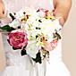 """Cvijeće za vjenčanje Krug Roses Buketi Vjenčanje Svila Višebojne 10.24 """"(Approx.26cm)"""