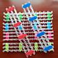 z&x® rainbow barva tkalcovský stav styl pestré kutilství ruční vazba gumička náramek nářadí (1 ks)