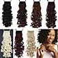 Excellent Quality Synthetic 18 Inch 100g Long Screw Curly Ribbon Ponytail Hairpiece - 7 Colors Available