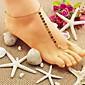shixin® klasické zářící zlaté sandály naboso (1 ks)