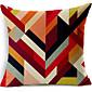 šaren geometrijska pamuk / lan dekorativne jastučnicu