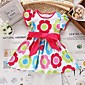 Girls Fashion Floral Sundress Party Birthday Kids Clothing  Princess  Dresses(Cotton)