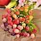 Větev Hedvábí Umělá hmota Růže Květina na stůl Umělé květiny