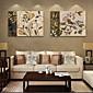 電子home®は2のキャンバスアートフラワー装飾画セットを伸ばし