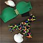 Ženski Bikini Push-up/Grudnjak sa žicom - Color block - Najlon