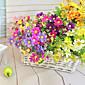 Dužina 34.5cm visoke kvalitete i svijetle boje 28 glave po hrpa malo tratinčica umjetnog cvijeća