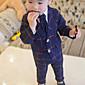 Dječaci Pamuk Karirani uzorak Jesen Dugih rukava Setovi Komplet odjeće