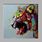 single moderní abstraktní čistá ruka kreslit připraven pověsit dekorativní malby na tigeroil