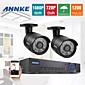 annke® 4CH 1200tvl mrežni DVR CCTV video nadzor sustava sigurnosne kamere 960h 720p