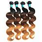 Ombre Brazilska kosa Tijelo Wave 4 komada kosa isprepliće