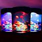 Elektronický medúza akvárium světla tvůrčí USB desktop akvárium vedl noční světlo
