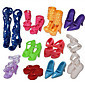 1483 Accessories / Doll Can Children And Other 10 Pairs Of Shoes Suits Toys / New Sandals Containing 100 Sets Of