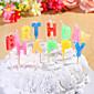 stranka dekoracija rođendan svijeće postaviti sretan rođendan slova