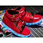 Za dječake Sneakers Proljeće Jesen Udobne cipele Osvijetlite Shoes PU Ležeran Ravna potpetica Vezanje Crna Crvena Bijela Ostalo