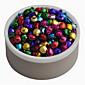 labave perle u boji 200 kom 8 mm / puno malih Jingle Bells božićni dar dobava