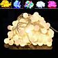 100 na čelu 10m vodootporan priključak vanjski Božića ukras svjetlo vodio niz svjetlo (220V)