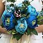 """Cvijeće za vjenčanje Krug Peonies Buketi Vjenčanje / Party / Večernji Saten 10.24 """"(Approx.26cm)"""