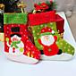 2 kom / puno Santa Christmas čarapa za party dekoracija socking poklon božićne čarape za božićni dar&ukras