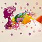 Moda / Cvjetnih / Fantazija Zid Naljepnice Zidne naljepnice Dekorativne zidne naljepnice / Naljepnice za vjenčanje,PVC Materijal