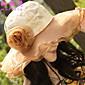 Žena Šifon / Bavlna / Síťovina Roztomilý / Party / Pracovní / Na běžné nošení Jaro / Léto Bucket klobouček / Sluneční klobouk