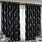 Dvije zavjese Prozor Liječenje Moderna Living Room Polyester Materijal Blackout Zavjese Zavjese Početna Dekoracija For Prozor