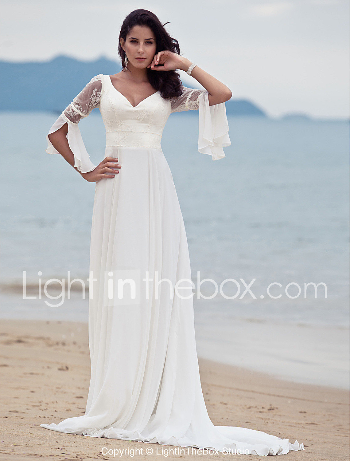 wedding dresses wedding dress under $ LAN TING BRIDE A line Wedding Dress Classic Timeless Chic Modern Vintage